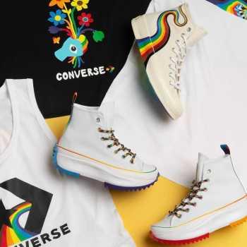 Converse Pride Collection 2021 Converse Chuck 70 Hi Pride Converse Run Star Hike Hi Pride