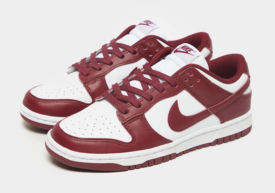 """ナイキ ダンク ロー """"チーム レッド"""" Nike-Dunk-Low-Team-Red-pair"""