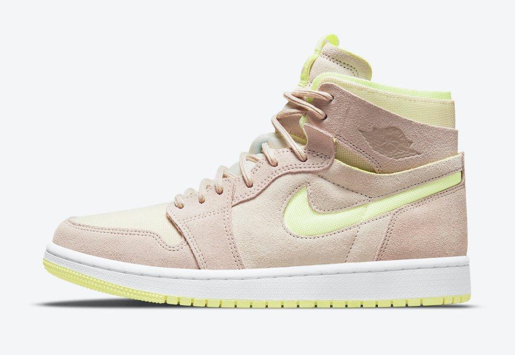 """ナイキ ウィメンズ エア ジョーダン 1 ズーム CMFT """"レモンツイスト"""" Nike-WMNS-Air-Jordan-1-Zoom-CMFT-Lemon-Twist-CT0979-200-side"""