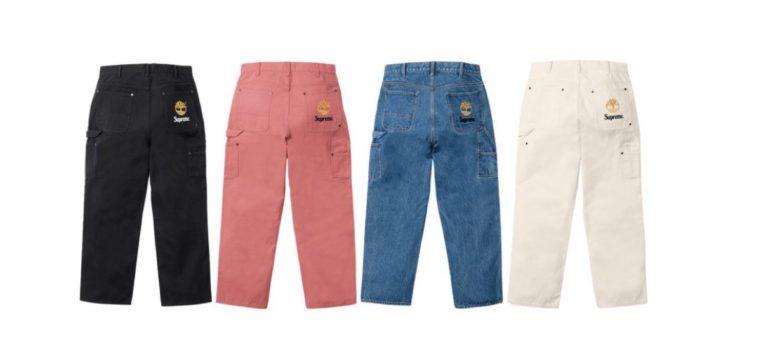 supreme 2021ss シュプリーム 2021春夏 week 12 TimberlandSupreme®/Timberland® Double Knee Painter Pant