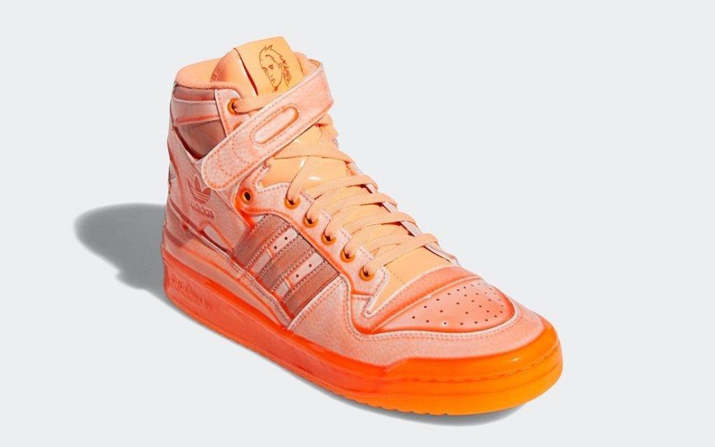 ジェレミー スコット アディダス フォーラム ハイ オレンジ Jeremy-Scott-adidas-Forum-Hi-Dipped-Q46124-orange-front
