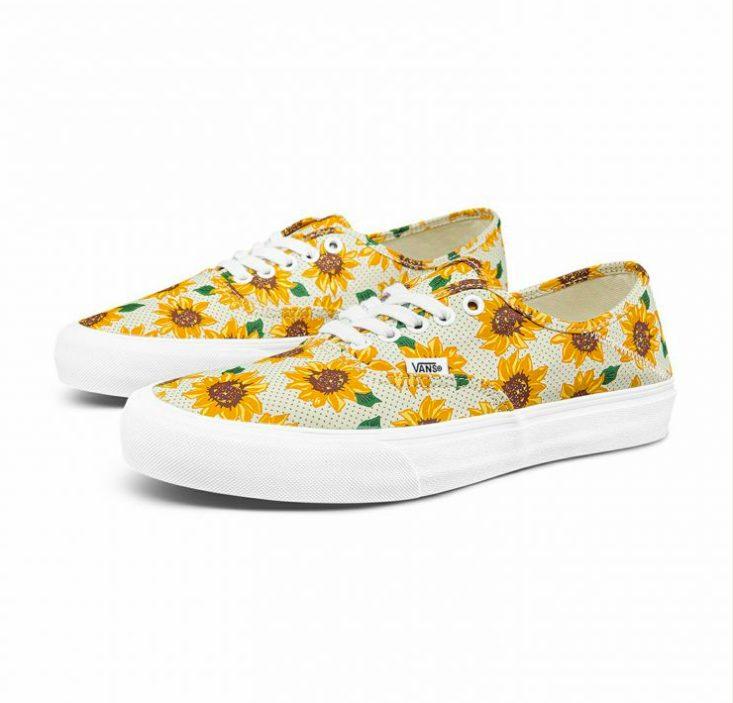 """ヴァンズ サーフ クラシックス """"サンフラワー"""" オーセンティック SF vans-authentic-sf-sunflower-vn0a5hyp6sr-pair"""