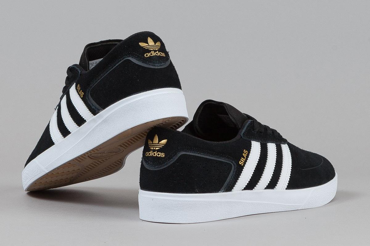 adidas Skateboarding Silas ADV Vulc Core Black  SBD
