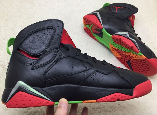 Air Jordan 7 Marvin The Martian Sneaker Bar Detroit