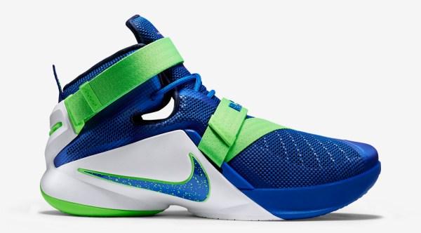 Nike LeBron Soldier 9 Sprite Sneaker Bar Detroit