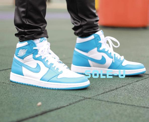 Air Jordan 1 Retro High OG UNC 2015 Sneaker Bar Detroit