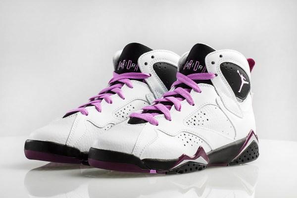 Air Jordan 7 GS Fuchsia Glow Berry Release Date Sneaker