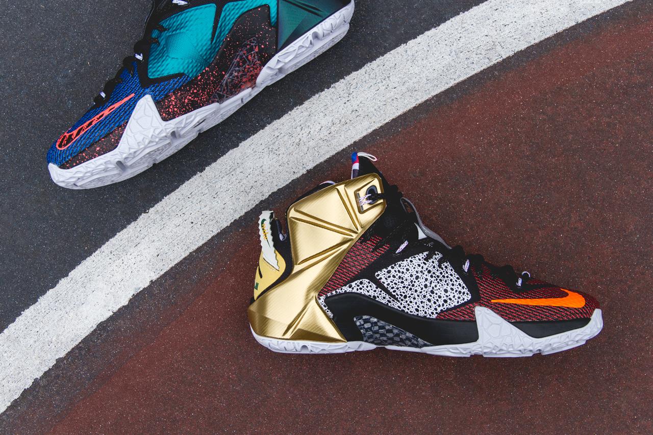 Nike LeBron 12 What The Sneaker Bar Detroit