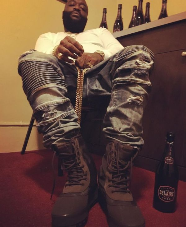 Rick Ross Wearing Jordan's