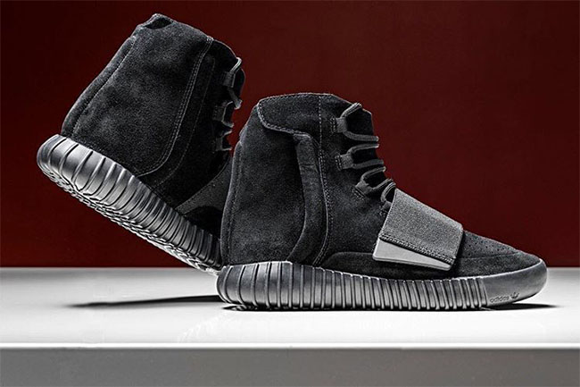 Adidas Yeezy Boost 750 Black Sneaker Bar Detroit