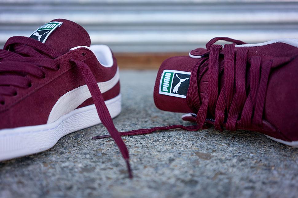 PUMA Suede Classic Cabernet Red Sneaker Bar Detroit