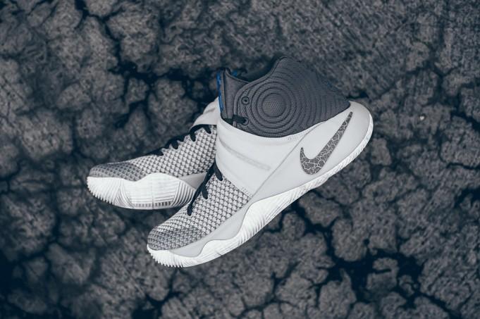 Lobo gris Nike Kyrie 2 Omega Azul