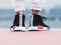 adidas NMD Chukka Black White Red Blue - Sneaker Bar Detroit