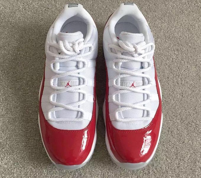 Air Jordan 11 Bajo Varsity Red Fecha de estreno 2016
