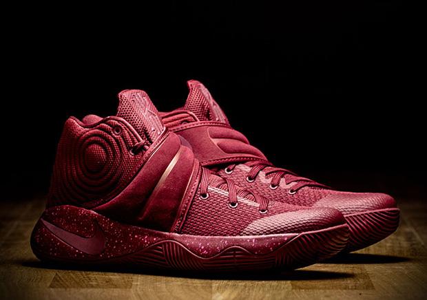 Nike Kyrie 2 Velvet Red Available