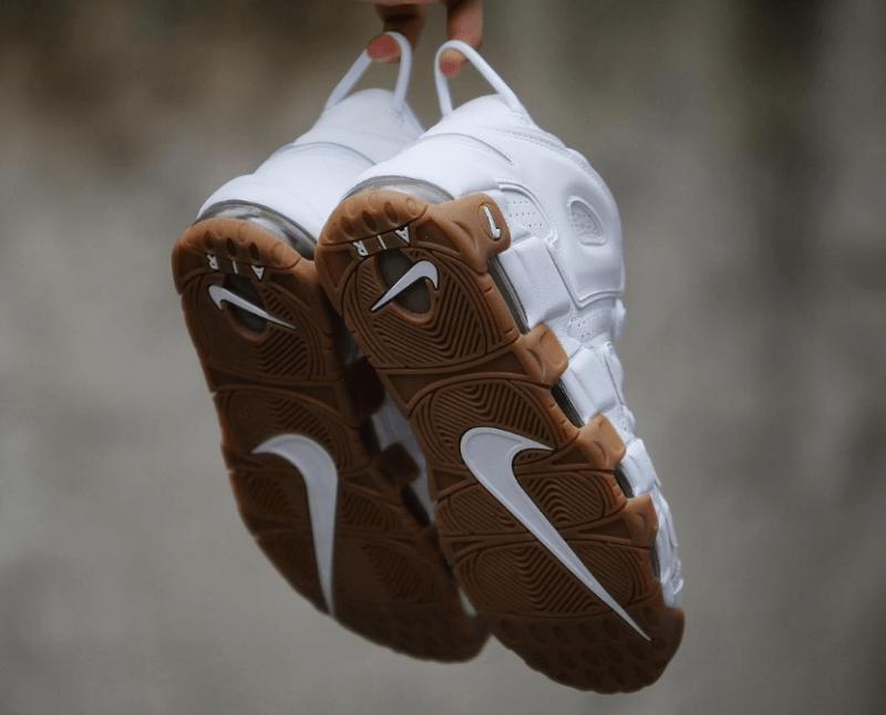 White Gum Nike Uptempo Scottie Pippen