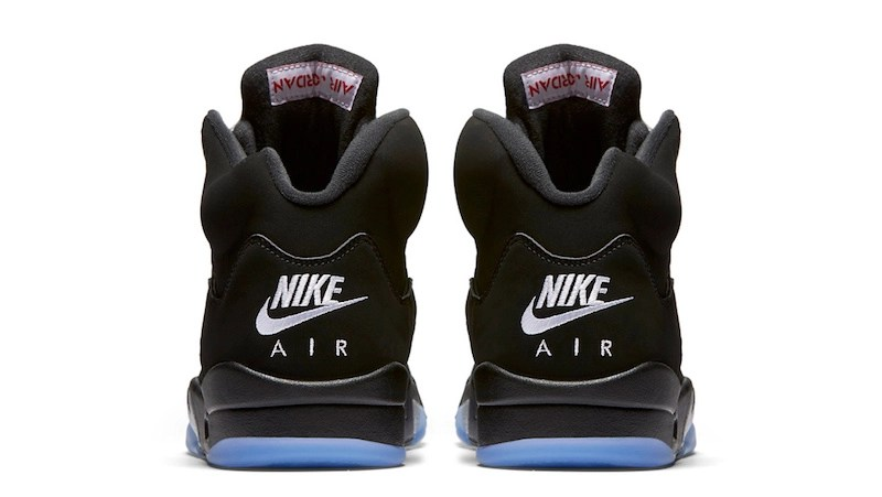 Air Jordan 5 Retro OG Black Metallic Silver Nike Air 2016 Release Date