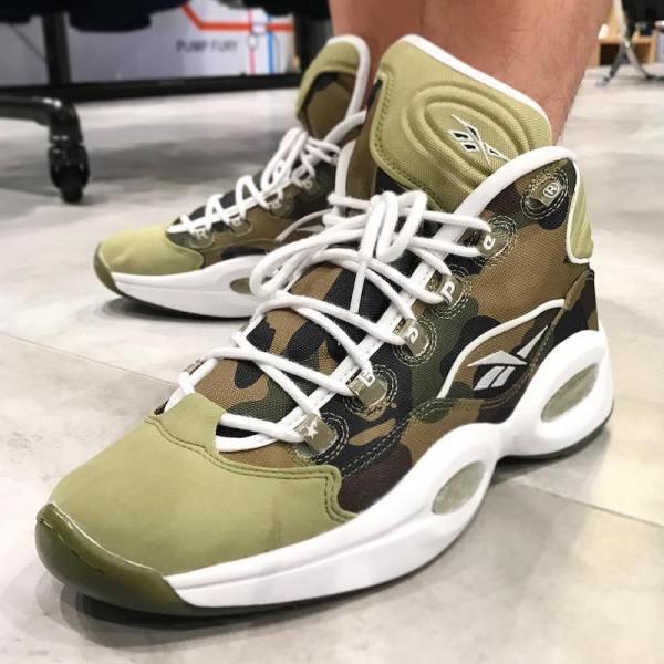 Bape Reebok Question Release Date - Sneaker Bar Detroit