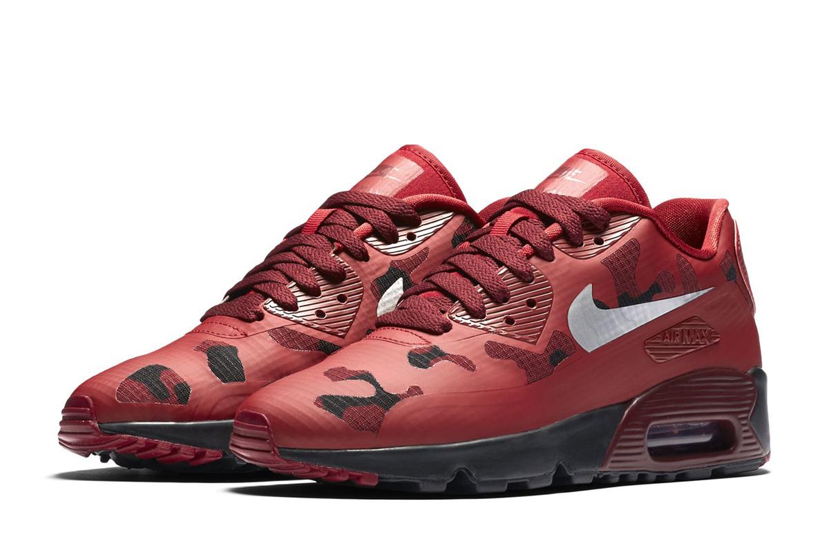 Nike Sportswear Camo Pack Air Force 1 Air Max 90 Sneaker
