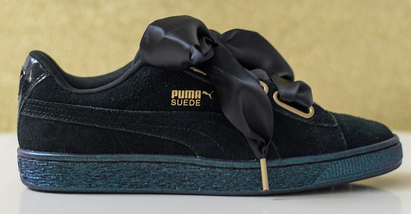PUMA Suede Heart Satin Valentines Day Sneaker Bar Detroit