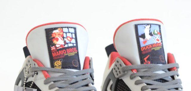 air jordan 4 nes mario bros custom 1 - Air Jordan 4 NES Customs Has Been Revealed