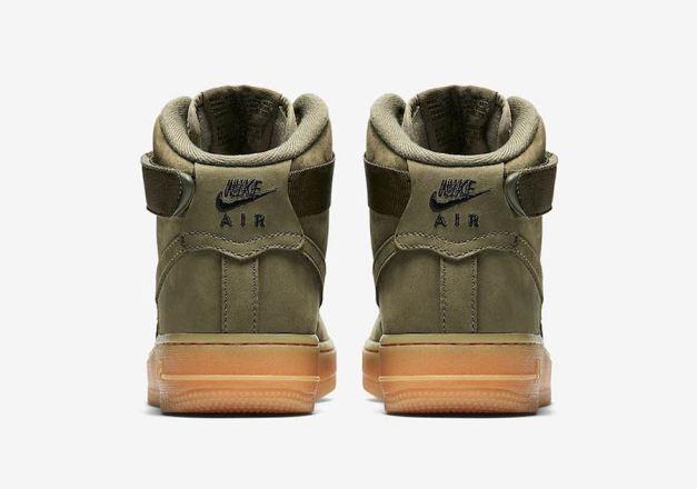 Nike Air Force 1 High Medium Olive 922066-202