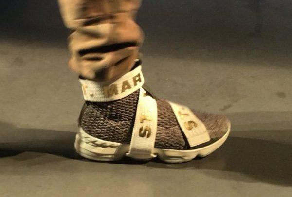 Nike LeBron 15 Strap SVSM Sneaker Bar Detroit