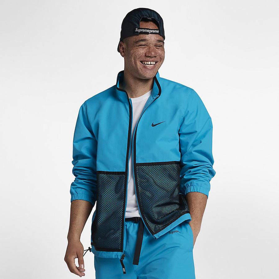Supreme Nike Track Jacket Pants Hat Apparel  Sneaker Bar