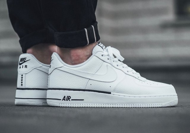 nike air force 1 white sneakers with shorts