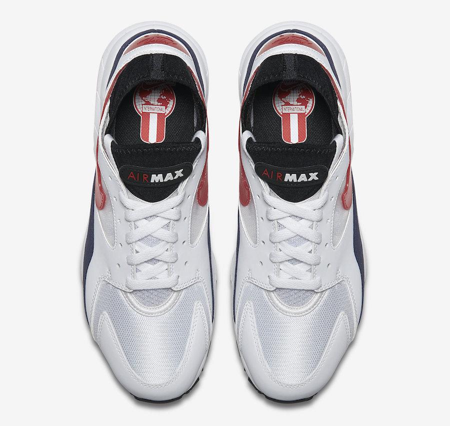 Nike Air Max 93 OG Flame Red 306551-102 - Sneaker Bar Detroit
