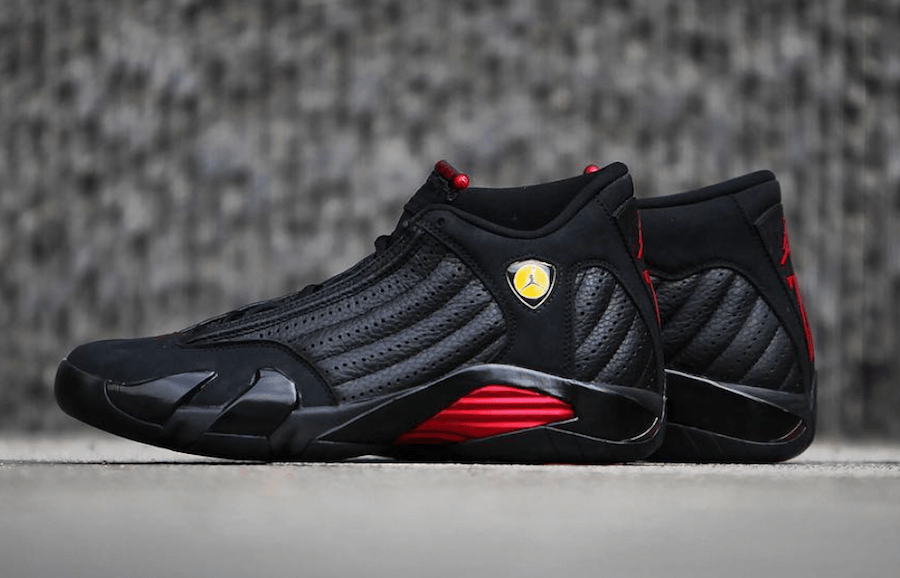 Air Jordan 14 Retro Last Shot 2018 Side
