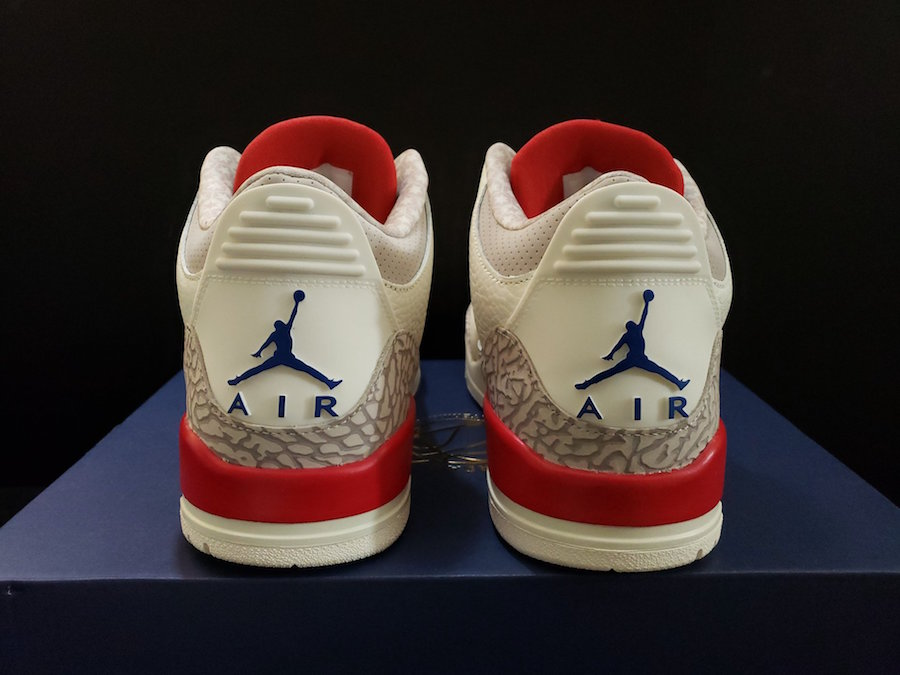 Air Jordan 3 Charity Game USA International Pack Release Date