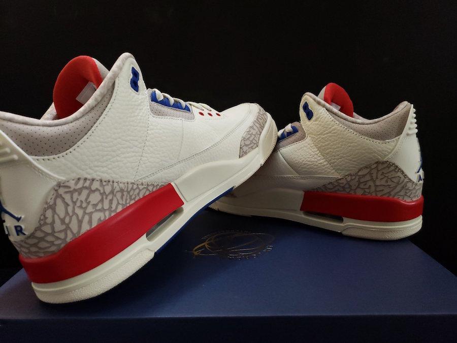Air Jordan 3 Charity Game USA International Pack Release Date