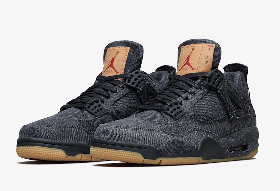 Black Levis Air Jordan 4 Release Date AO2571-001