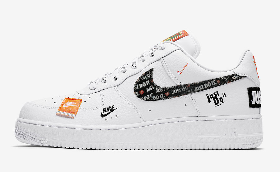 Nike Air Force 1 Just Do It White Release Date Sneaker