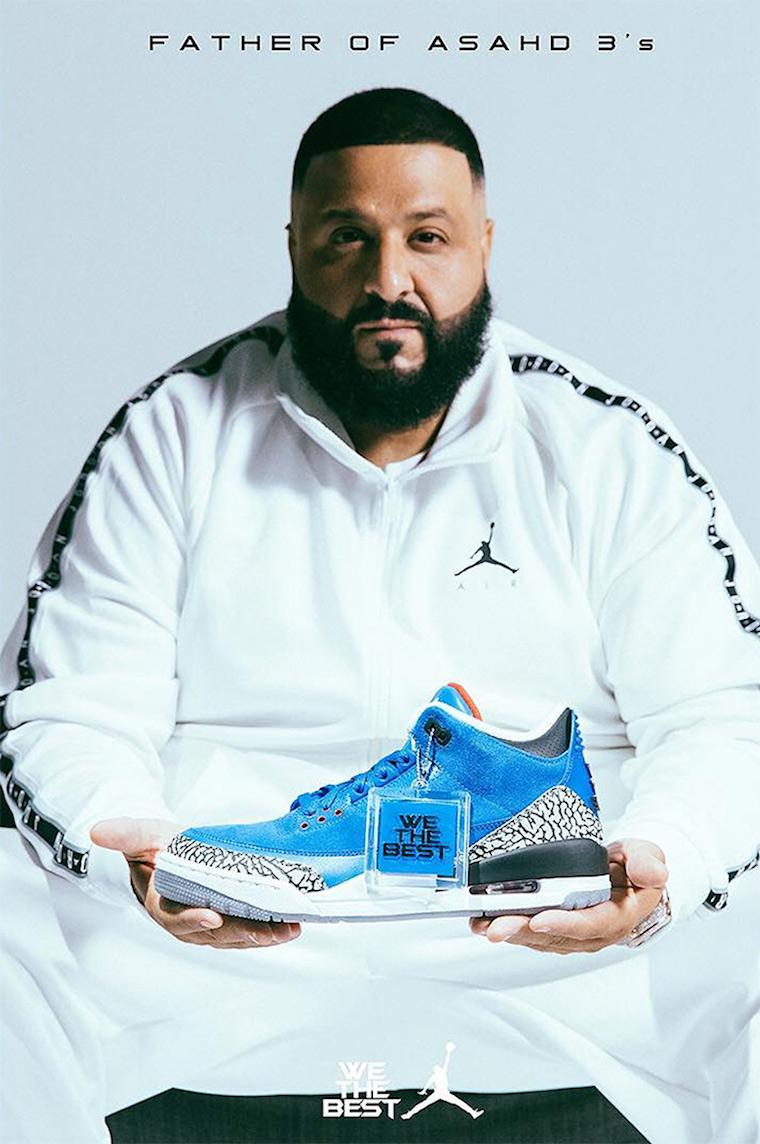 Dj Khaled Air Jordan 3 Another One Air Jordan 3 Father Of