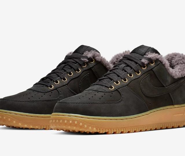 Nike Air Force 1 Premium Winter Sherpa Bv0131 001 Release Date