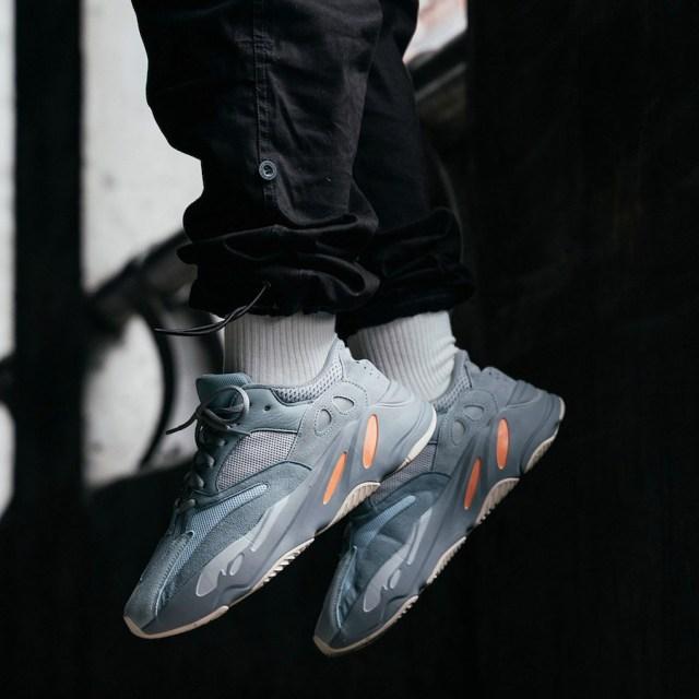 5cc716e9ef8f0 adidas Yeezy Boost 700 Inertia On-Feet Release Date