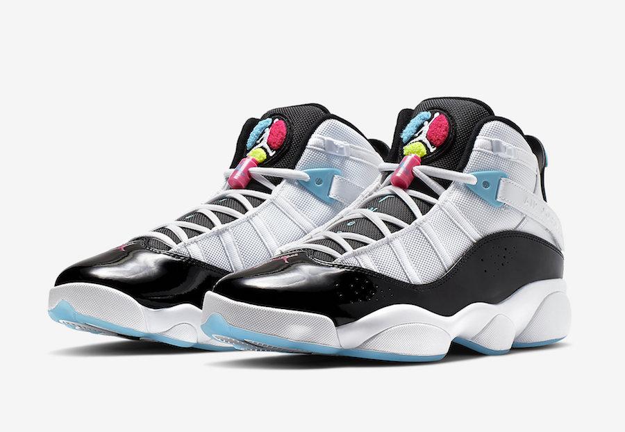 Jordan  Rings White Hyper Pink Light Blue Fury Ck  Release Date