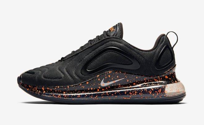 Nike Air Max 720 Black Speckle CJ1683-001 Release Date