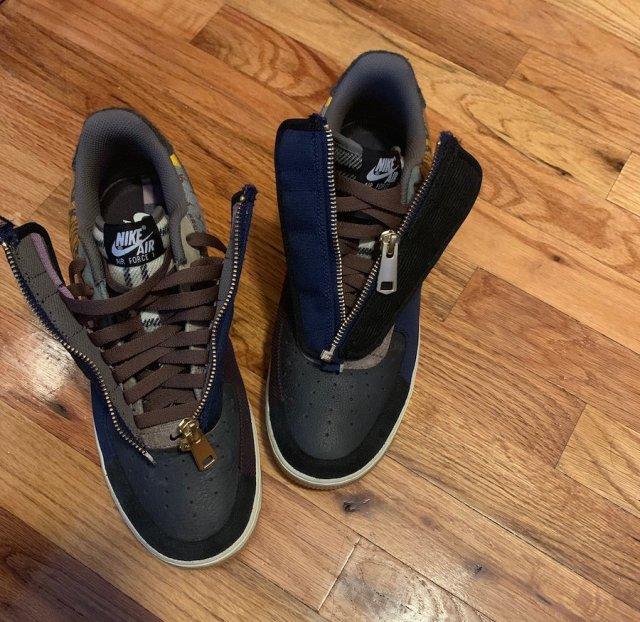 Travis Scott Nike Air Force 1 Low Zippers Release Date