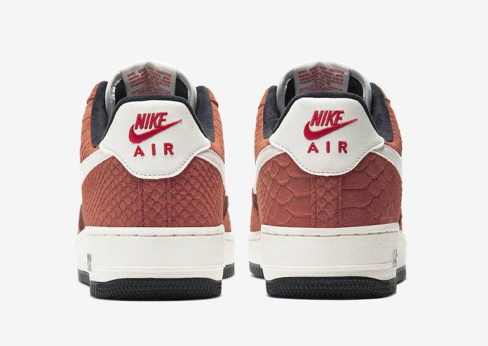 Nike Air Force 1 PRM Red Bark CV5567-200 Releas Date