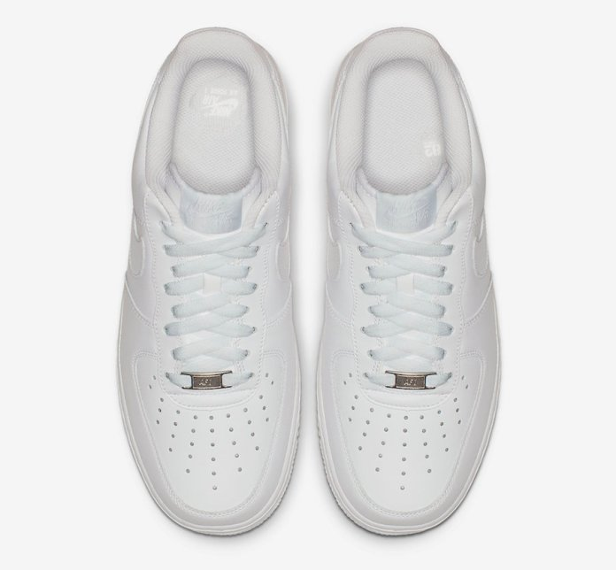 Nike Air Force 1 Low Triple White 315115-112 Release Date