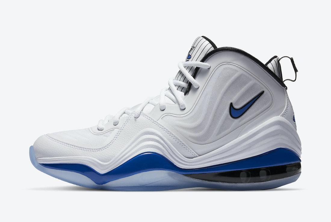 Nike Air Penny 5 V Orlando Magic Home CN0052-100 Release Date
