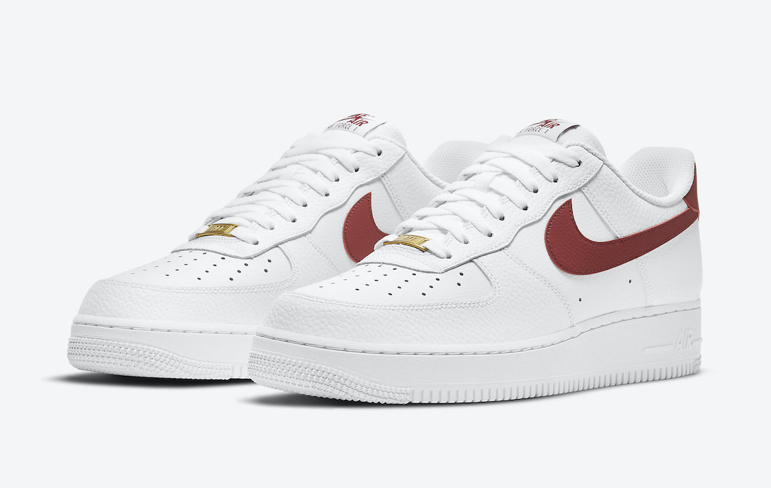 Nike Air Force 1 Low Team Red CZ0326-100 Release Date - SBD