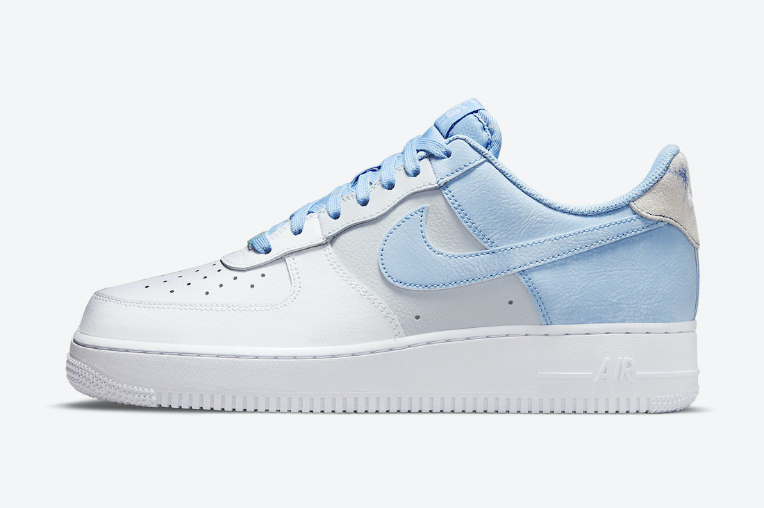 Nike Air Force 1 '07 'Psychic Blue'