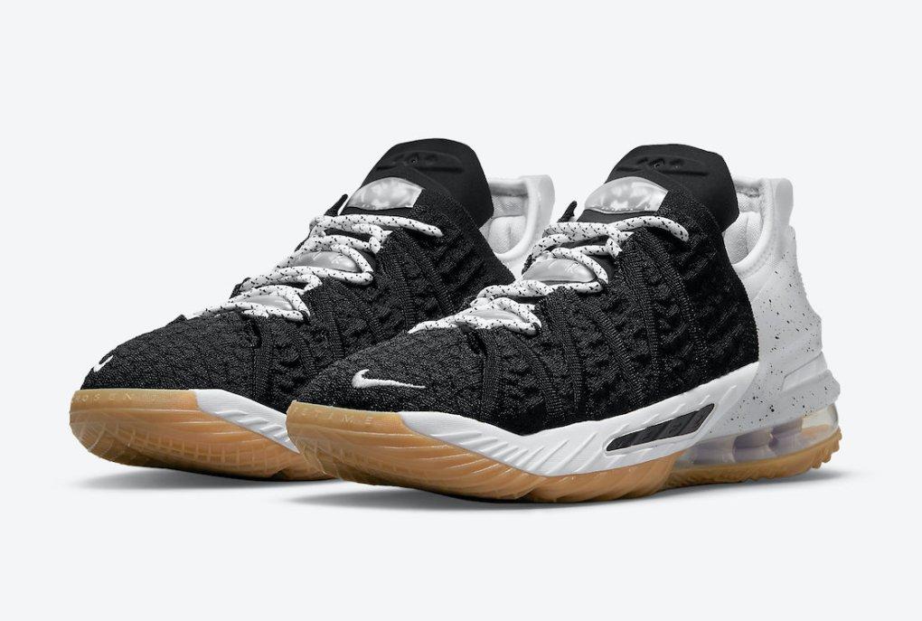 Nike LeBron 18 GS Black Gum CW2760-007 Release Date