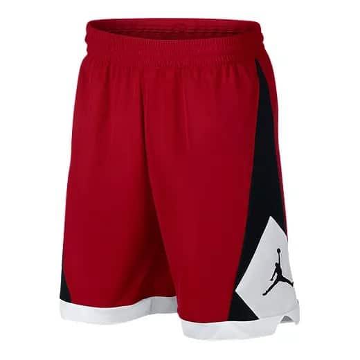 Quần Men's Basketball Shorts Jordan Authentic Triangle Red AJ1114-687