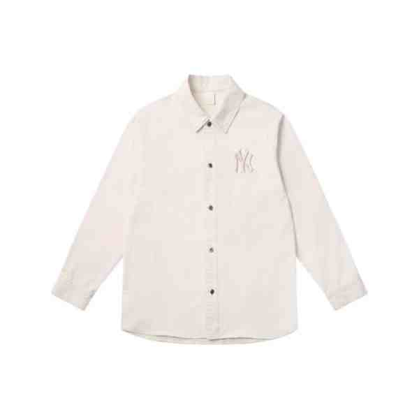 ao-so-mi-mlb-mega-logo-denim-new-york-yankees-white-31wsn2111-50i