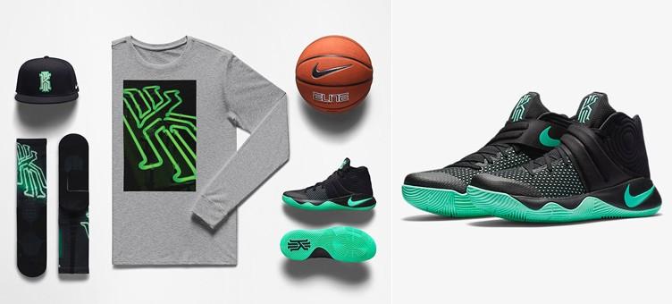 Nike Kyrie 2 Green Glow Clothing  SneakerFitscom